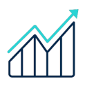 Grow sales icon